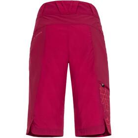 VAUDE Downieville Pantalones cortos Mujer, crimson red